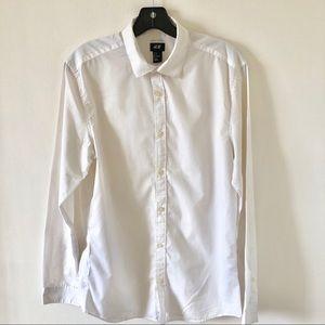 Men's H&M Easy Iron White Button Down Size Medium
